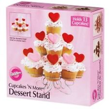 Valentines Cupcakes N More Cupcake Stand from Wilton 868 NEW