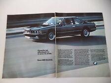 advertising Pubblicità 1984 BMW M 635 CSI