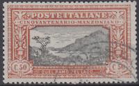 Italy Regno - 1923 Manzoni - Sassone n. 154 cv 360$ used