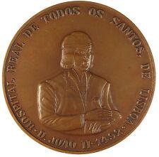 Portugal medicine HOSPITAL REAL DE TODOS OS SANTOS LISBON bronze 75mm
