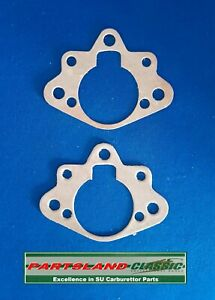 2 x Air Filter/Elbow to Carb Gasket Triumph Stag 148007