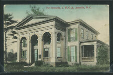 NC Asheville H/C ROTOGRAVURE 1910's THE HENRIETTA YWCA by Hackney No.15022