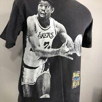 VTG Magic Johnson T Shirt LA Lakers 80s Single Stitch Medium NBA Los Angeles Tee