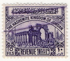 (I.B) Jordan Revenue : Duty Stamp 10f