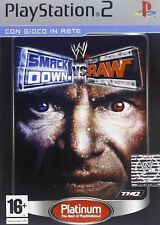 WWE SmackDown Vs Raw PS2 Versione Platinum