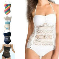 Sexy Women Monokini Halter Bikini Swimwear Swimsuit Bathing Suit Beachwear