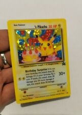 Carte Pokemon Pikachu Birthday limited Promo Ultra rare English proxy card