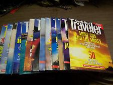 13958 Conde Nast Traveler Magazine 13 issues 1991