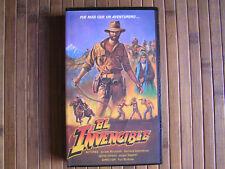 EL INVENCIBLE (Yuri Borestski)1983 rare coleccionistas VHS en español