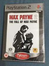 Max Payne 2 - The Fall of Max Payne NEW SEALED PAL UK Version PS2 PS3 (60gb)