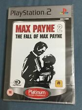 Max Payne 2 - The Fall of Max Payne NEW SEALED PAL UK Version PS2 PS3 (60gb)