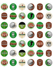 Football Themed PRINTABLE Bottle Cap Images ~ Template of 42!