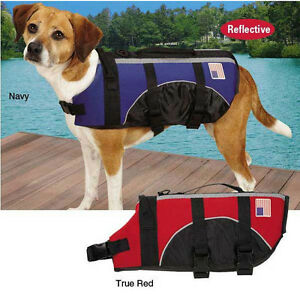 NEOPRENE DOG PET PRESERVER LIFE JACKET SAFETY VEST SWIM WATER Guardian Gear