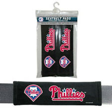 Philadelphia Phillies Seat Belt Pads 2 Pk- Car Luggage Seatbelt Shoulder MLB CDG