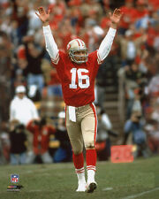 San Francisco 49ers JOE MONTANA Glossy 8x10 Photo NFL Football Print Poster