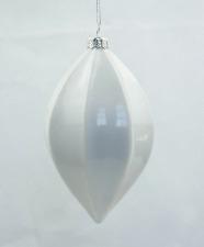 Glas Tropfen, Weihnachtsschmuck Christbaumkugeln 8,5*15 cm, geometrische Form