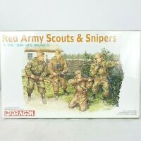 Dragon Models Red Army Scouts Snipers WWII Infantry Soldiers Series Kit 1:35 New