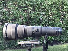 Nikon Nikkor 500mm f4 P ED IF AIS Manual Focus