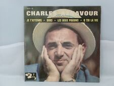 Charles Aznavour – Je T'attends                  Barclay – 70 517