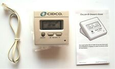 Vintage New White Cidco Caller Id Original Box Number Pa25