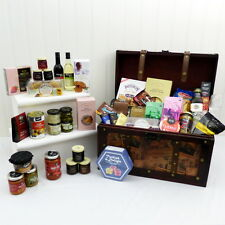 'Family Feast' Luxury Food Gift Hamper in Unique Vintage Style Chest