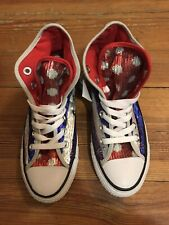 Converse Chuck Taylor Limited American Flag Sequin Sneaker Shoes Womens 5