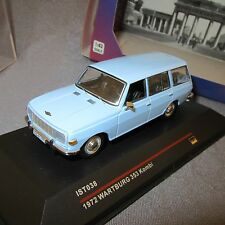485E IST Models {IST038} Warburg 353 Kombi 1972 Blue 1:43