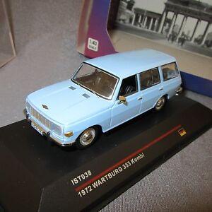 485E IST Models IST038 Warburg 353 Kombi 1972 Blue 1:43 +Box