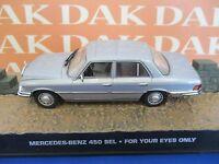 Die cast 1/43 Modellino Auto 007 James Bond Mercedes Benz 450 SEL - For Yours