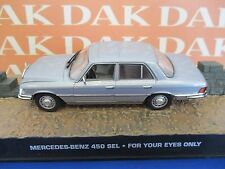 Die cast 1/43 Modellino Auto 007 James Bond Mercedes Benz 450 SEL - For Yours