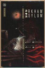 Arkham Asylum #1 Vf/Nm, 1st P. Hc, Grant Morrison, Dave McKean, Dc Comics 1989