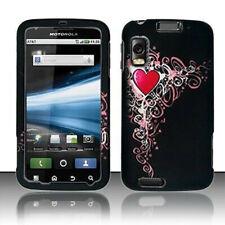 Heart Hard Case Snap Cover for Motorola Atrix 4G MB860