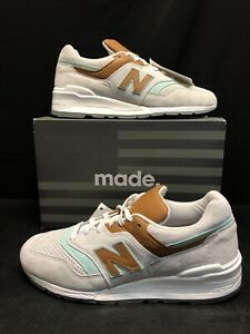 $170 New Balance 997 Reef Made in USA Nimbus Cloud SZ 8 suede M997BB1 grey