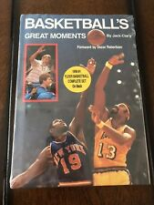Basketball's Great Moments By Jack Clary With 1990 Fleer Basketball Set - Jordan
