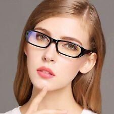 durchsichtige Linse Mode Geek Brille schwarzes Gestell