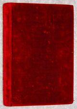 1853~BOOK OF COMMON PRAYER~William Pickering~VELVET FINE BINDING~GAUFFERED EDGES