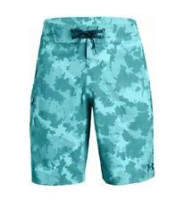 "$60 Under Armour Reblek Men's Size 40"" Board Shorts Teal Green 1271514-796 NWT"