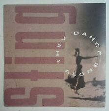 "Sting  They Dance Alone Single 7"" UK 1988"