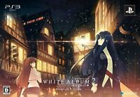 PS3 WHITE ALBUM2 Premium Edition PlayStation3 Japan Game Japanese