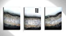 JEAN SANDERS -Strukturbild ***HANDGEMALTE ORIGINALE*** 150x70cm