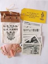 us army louisiana maneuvers photocards and mini us mail us army souvenir [B]