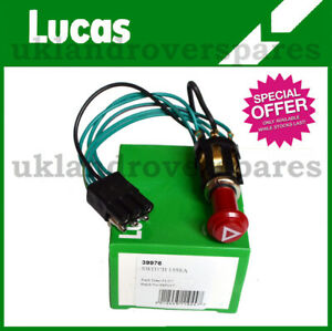 LAND ROVER SERIES HAZARD WARNING LIGHT SWITCH  - 90575281 39976 GENUINE LUCAS