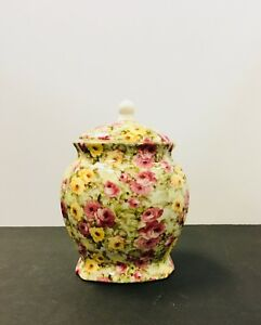Large Floral Ginger Jar
