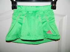 Girl's Adidas Green & Pink Tennis Skirt Size 2T