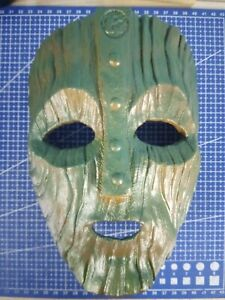 Maschera per cosplay The Mask , dipinta a mano