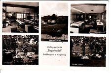 Stadtbergen Augsburg AK 1951 Waldgaststätte Ziegelstadel Mehrbild Bayern 1502315