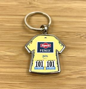 Tour De France Mathieu Van Der Poel Yellow Jersey Alpecin 2021 Cycling Keyring