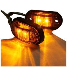 12V / 24V 2 LED Side Marker Lights Lamp For Car Truck Trailer E-marked Ambe O6U8