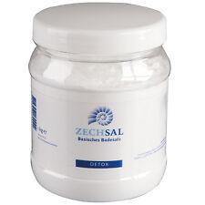 Zechsal Basisches Badesalz (1kg) Natron für Detox Magnesium Fußbad oder Vollbad