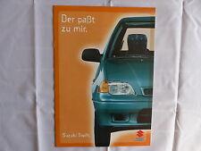 Suzuki Swift GLS GLX - Prospekt Brochure 01.1998